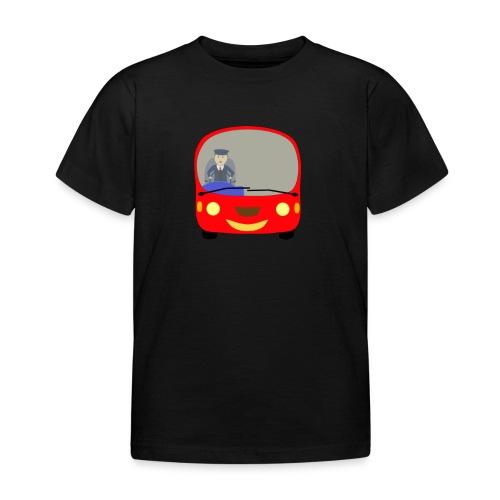 bus front - Kids' T-Shirt