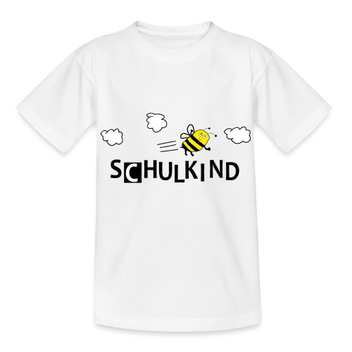 Schulkind Biene - Kinder T-Shirt