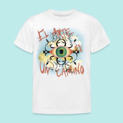 El Arte es un camino - Camiseta niño