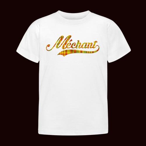 méchant madras - T-shirt Enfant