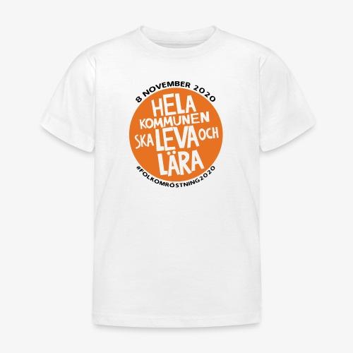 FOLKOMRÖSTNING 2020 - T-shirt barn