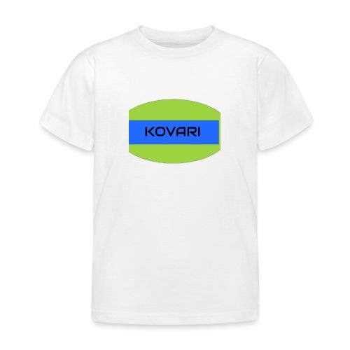 Kovari Logo - Lasten t-paita