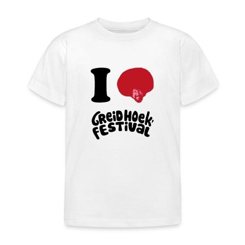 i love greidhoek - Kinderen T-shirt