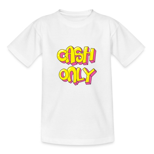 Cash only - Kinderen T-shirt