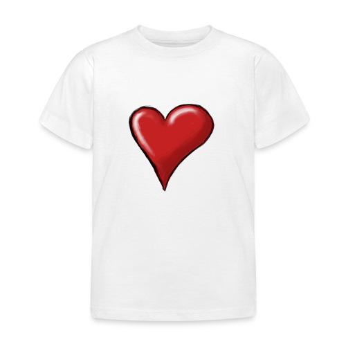 Love (coeur) - T-shirt Enfant