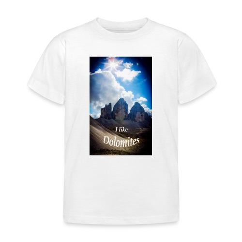 I like Dolomites Kopie - Kinder T-Shirt