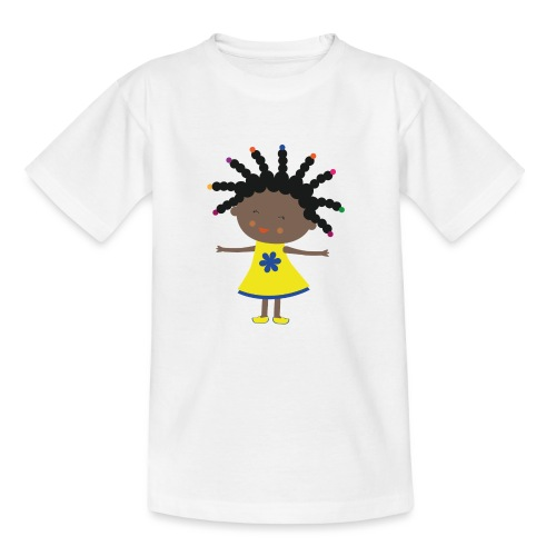 Happy Meitlis - Afrika - Kinder T-Shirt