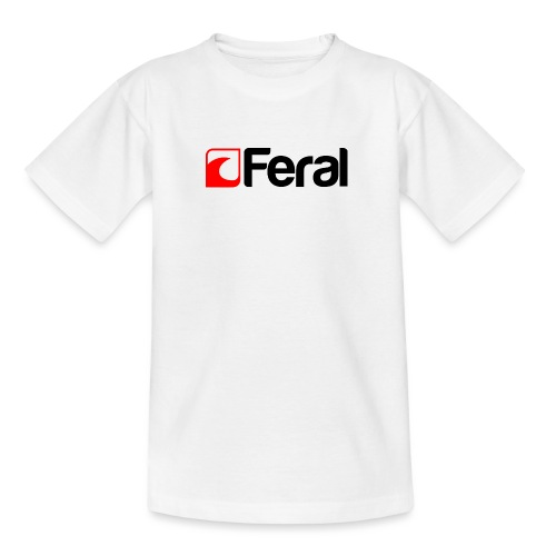 Feral Red Black - Kids' T-Shirt
