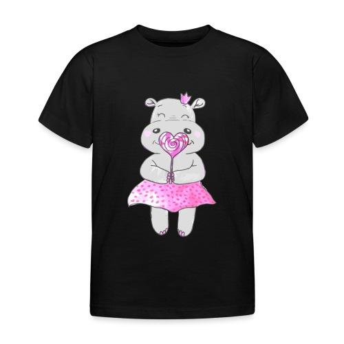 Happy Hippo - Kinder T-Shirt