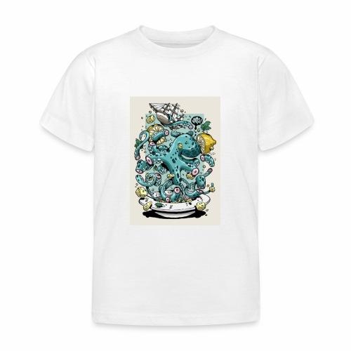 Pulpo Dibujo (creativo) - Camiseta niño