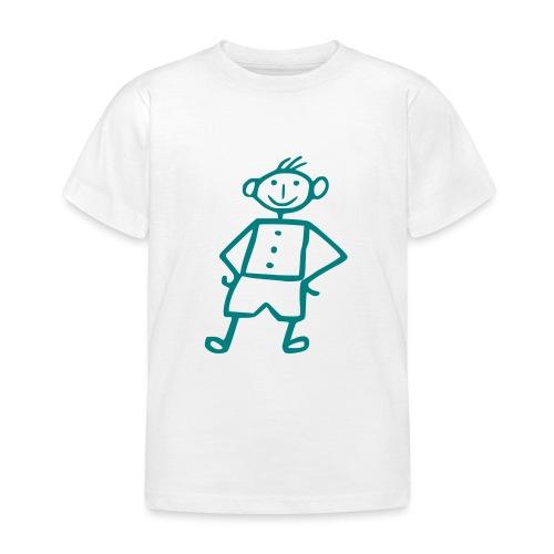 me-white - Kinder T-Shirt