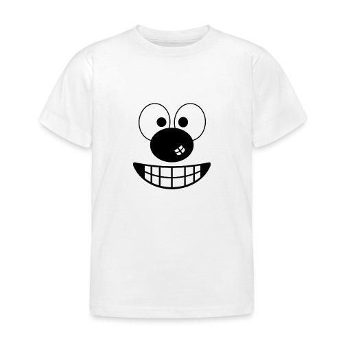 Funny cartoon face - Kids' T-Shirt