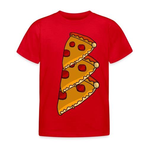 pizza - Børne-T-shirt