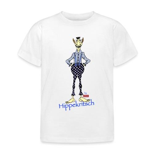 patame Hippekritsch Blau - Kinder T-Shirt