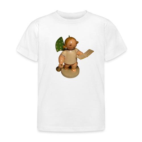 Engel mit Notenblatt + Trompete Retro Vintage Alt - Kinder T-Shirt