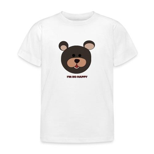 Oso feliz - Camiseta niño