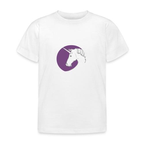 Einhorn Marlene von Hagen Violett - Kinder T-Shirt