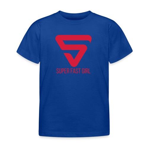 Super Fast Girl - T-shirt Enfant