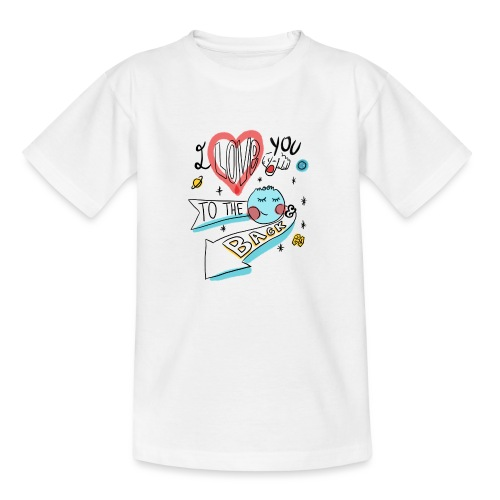 I love you to the moon 2 - T-shirt Enfant