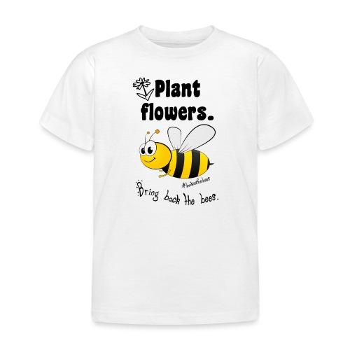 Bees8-1 Bringt die Bienen zurück! | Bookrebels - Kids' T-Shirt