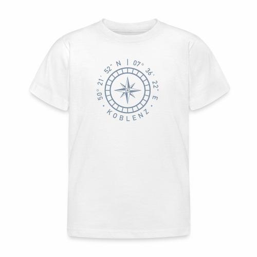 Koblenz – Kompass - Kinder T-Shirt