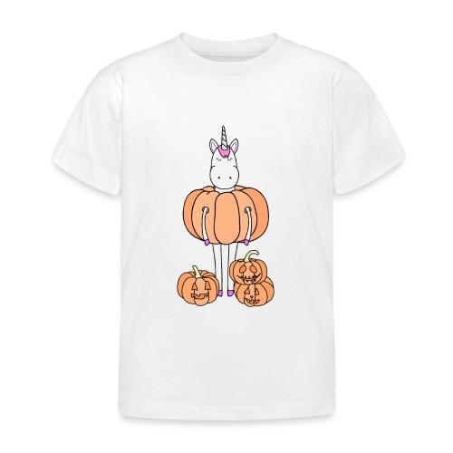 Unicorn & pumpkins - Maglietta per bambini