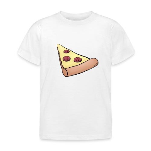 Pizzastück für Eltern-Baby-Partnerlook - Kinder T-Shirt
