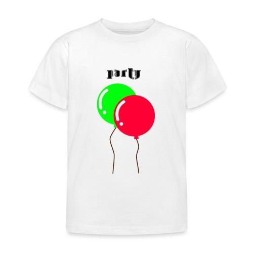 party - Maglietta per bambini