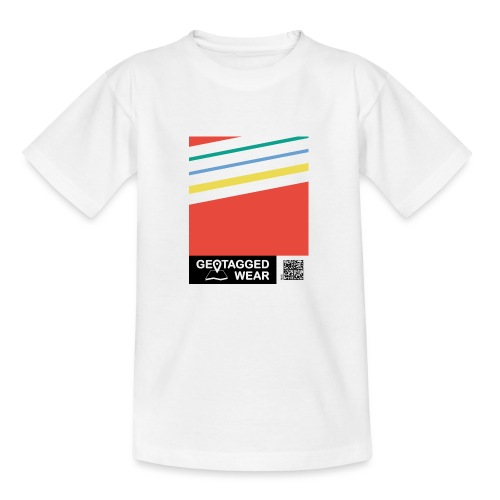 Unisex Stripes Pantone Colored - Kinder T-Shirt
