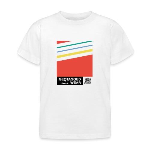 Unisex Stripes Pantone Colored - Kinder T-Shirt