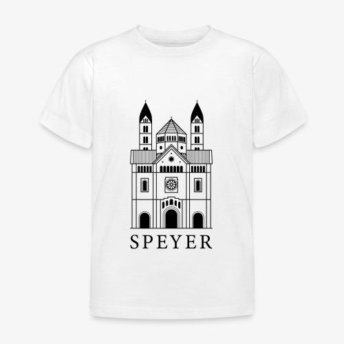 Speyer - Dom - Classic Font - Kinder T-Shirt