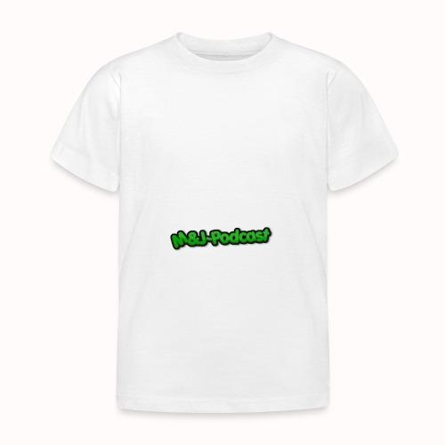 Michael & Jesper - Podcast (Deluxe) - Børne-T-shirt