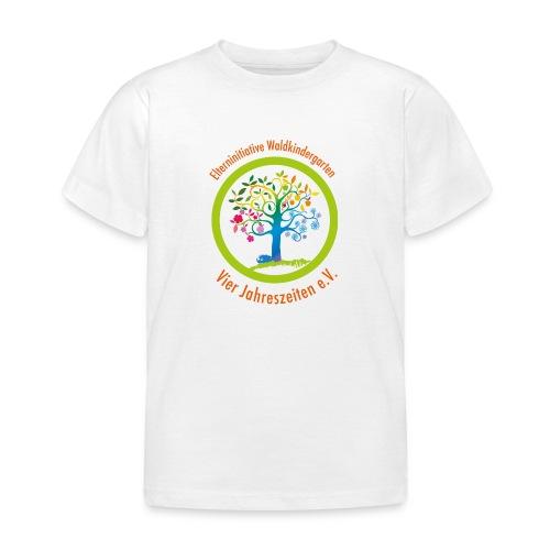 Waki Logo cmyk mitSchrift - Kinder T-Shirt