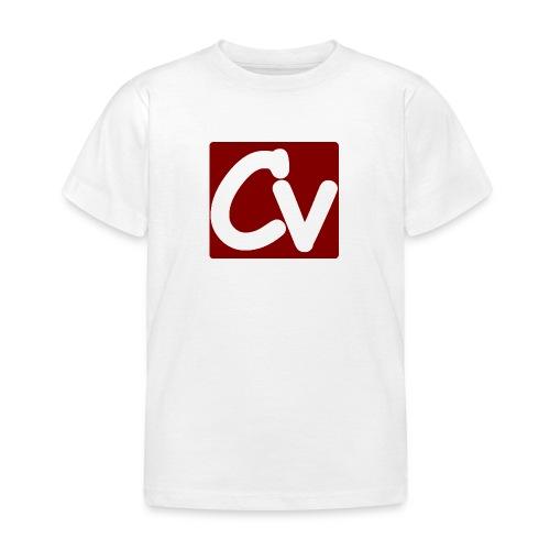 cuboviaggiatore rosso bianco logo grand - Kids' T-Shirt