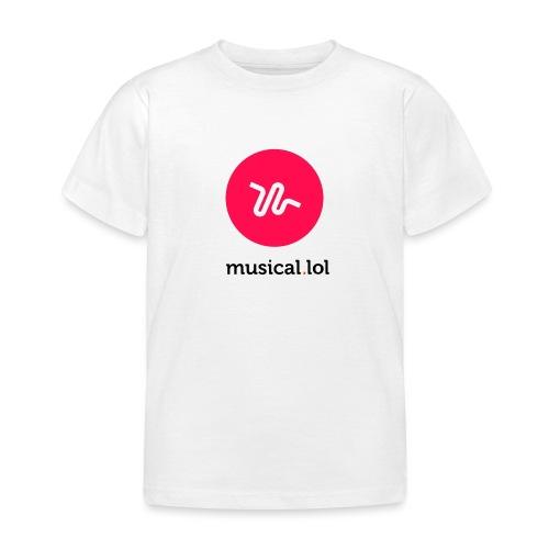 musicalol - T-shirt Enfant