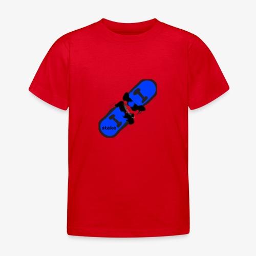 skateboard 512 - Børne-T-shirt