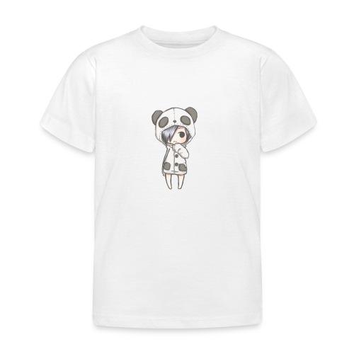 Cute girl panda - Kids' T-Shirt
