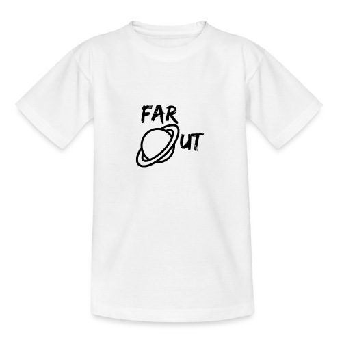 Far_Out_black - Camiseta niño