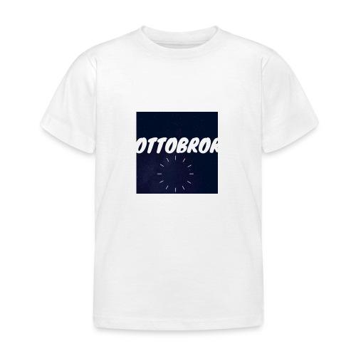 Ottobror - T-shirt barn