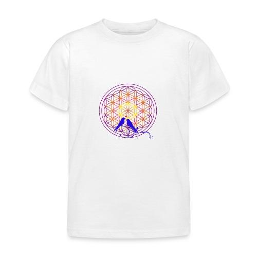 fleur de vie oiseau n°2 - T-shirt Enfant