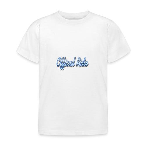 Offical Ride - Kinder T-Shirt