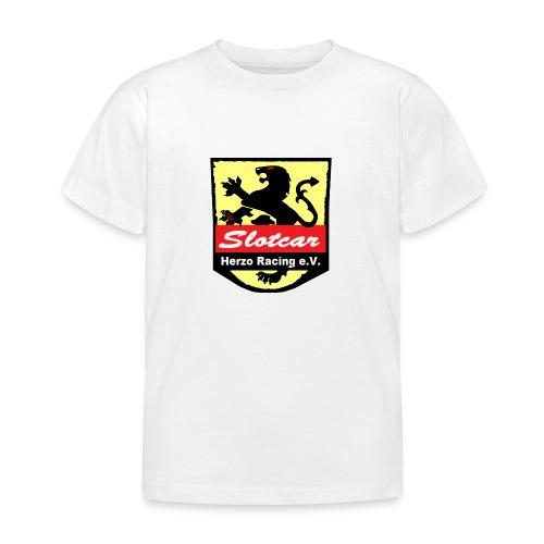 HR Logo Schwarz (für alle Hintergründe) - Kinder T-Shirt