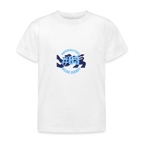 SOENDERJYSKE BLUE ARMY - Børne-T-shirt
