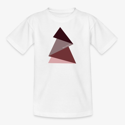 fir triangles 2 - Kids' T-Shirt
