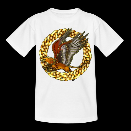 Golden Gryphon - Kids' T-Shirt