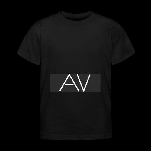 AV White - Kids' T-Shirt