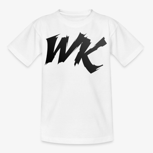 WK black - Kids' T-Shirt