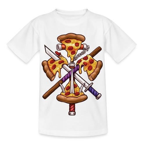 Ninja Pizza - Kids' T-Shirt