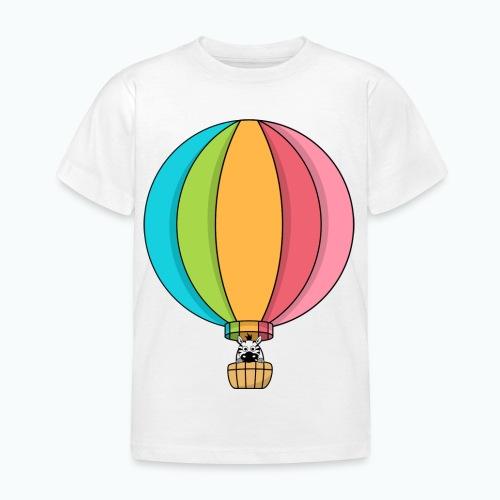 Zebra Zach Air Balloon - T-shirt barn