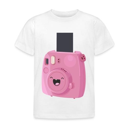 Appareil photo instantané rose - T-shirt Enfant